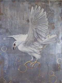 Thread of Life - Wildlife painting by Tricia George