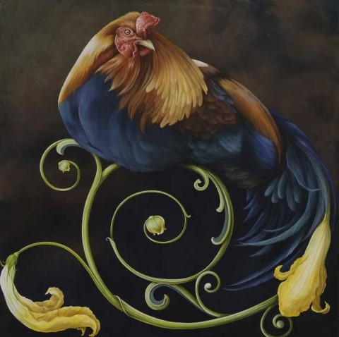 Regal by Tricia George, Wildlife Artist