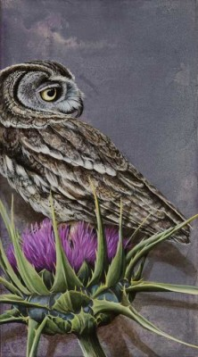 Introspection - wildlife artist Tricia George